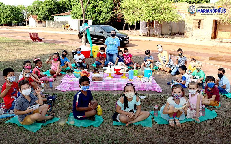 Creche Municipal Irmã Elmara Desenvolve Projeto Sobre Consciência Ambiental com os Alunos